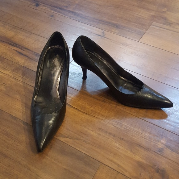 824541d99ff Coach Shoes | Waverly Black Pointedtoe Pumps | Poshmark